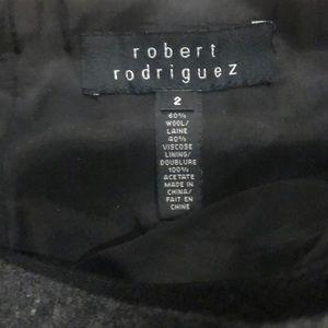 Robert Rodriguez Skirts - ROBERT RODRIGUEZ 2-Tone Tops Mini Skirt